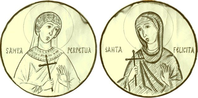Sainte Perpetua and Sainte Felicita